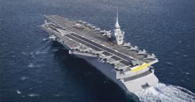 Франция официально приступила к исследованиям нового авианосца