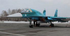 """""""Сухой"""" поставил крупную партию Су-34 Минобороны РФ"""