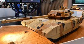 Танк Т-14 «Армата» представили наследному принцу эмирата Абу-Даби