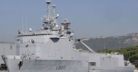 Бразилия может приобрести у Франции десантно-высадочный корабль-док