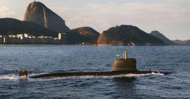"""В Бразилии продолжается строительство четырех неатомных подводных лодок типа """"Скорпен"""""""