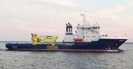 Судно тылового обеспечения «Эльбрус» пройдет испытания в северных широтах