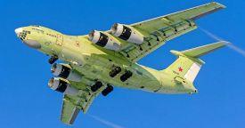 Конвертируемый самолет-заправщик Ил-78М-90А совершил первый полет