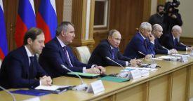 Путин провел совещание по вопросам диверсификации производства предприятий ОПК