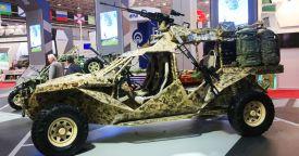 """Боевая машина спецназа """"Чаборз-6"""" представлена в Грозном"""