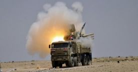 Сирийская ПВО перехватила 71 крылатую ракету из 103, выпущенных США и их союзниками