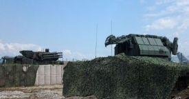 Россия развернула ЗРК «Тор-М2» на авиабазе Хмеймим в Сирии