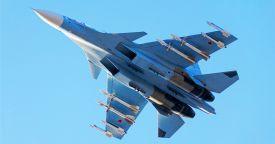 Истребитель Су-30СМ разбился в Сирии