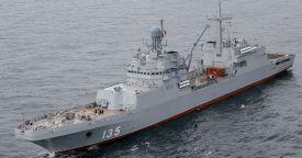 """БДК """"Иван Грен"""" завершил программу морские испытания"""