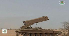 Алжир получил российские тяжелые огнеметные системы ТОС-1А