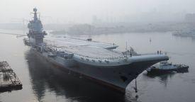 Китай начал ходовые испытания первого авианосца собственной разработки