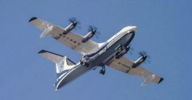 Китайский самолет-амфибия AG600 будет готов к поставкам к 2022 году
