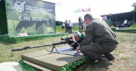 Тяжелая снайперская винтовка ОСВ-96 станет высокоточной