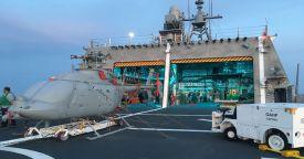 """Первоначальные эксплуатационные и оценочные испытания БЛА MQ-8C """"Файр Скаут"""" завершены"""