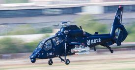 Китайский боевой вертолет Z-19E подготовлен к серийному производству