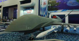 Китай представил на авиасалоне в Чжухае новый ударный БЛА WJ-700