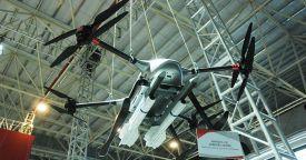"""Компания """"Норинко"""" представила концепцию роя боевых БЛА-мультикоптеров"""