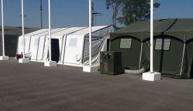 Мобильный комплект маскировочных палаток (зима/лето)
