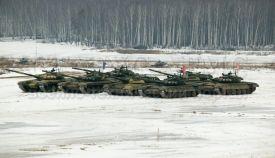 ОБТ Т-80У и Т-72Б3